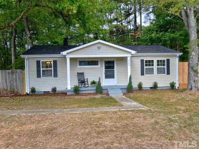 Durham County Single Family Home For Sale: 6609 Russell Road