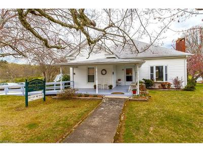 Transylvania County Single Family Home Under Contract-Show: 658 Country Club Road