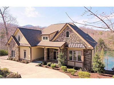 Lake Lure Single Family Home For Sale: 584 Shumont Estates Drive