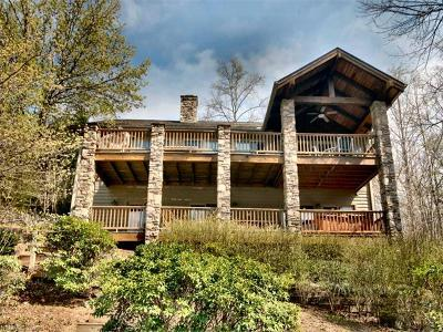 Lake Lure Single Family Home Under Contract-Show: 124 Lake Boulevard