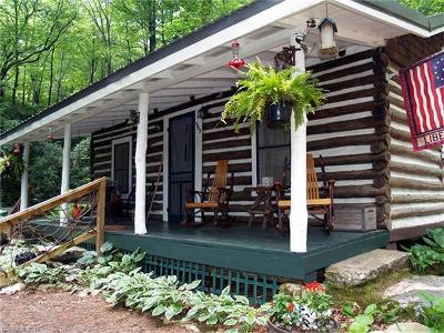 Lake Toxaway Single Family Home For Sale: 563 Lower Hawk Mountain Road