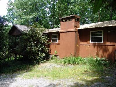 Transylvania County Single Family Home For Sale: 2962 Slick Fisher Road