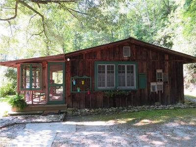 Brevard Single Family Home For Sale: 8281 East Fork Road E