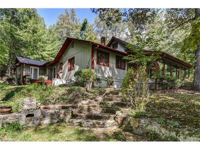 Hendersonville Single Family Home For Sale: 1114 Crab Creek Road