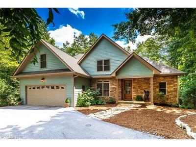 Brevard Single Family Home For Sale: 620 Kanasgowa Drive