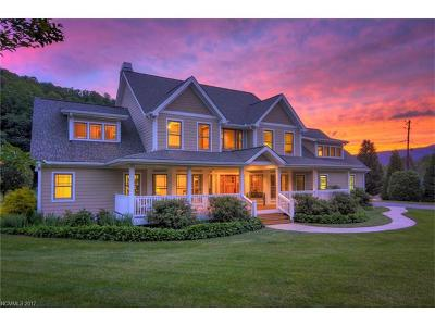 Weaverville Single Family Home Under Contract-Show: 249 Ox Creek Road