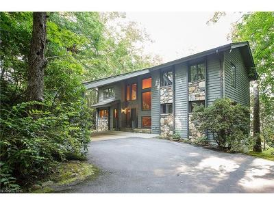 Lake Toxaway Single Family Home For Sale: 271 Club Boulevard #82