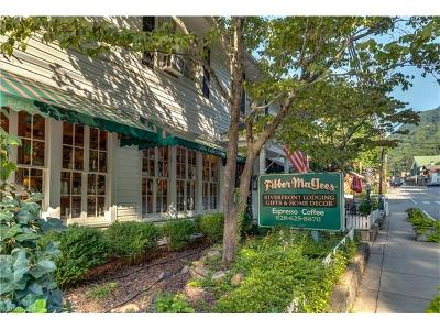 Lake Lure Commercial Under Contract-Show: 339 Main Street