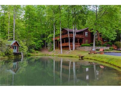 Pisgah Forest Single Family Home For Sale: 1393 King Road