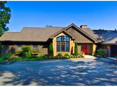Lake Toxaway Single Family Home For Sale: 100 Meadow Ridge Drive #MR-1