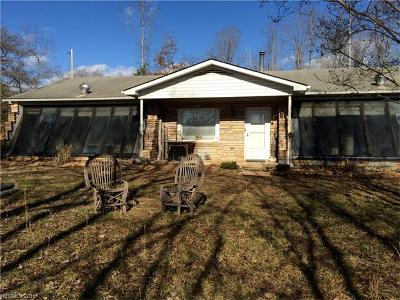 Lake Lure Single Family Home For Sale: 1364 Freemantown Road