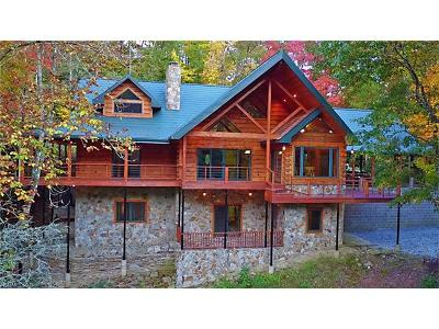 Lake Toxaway Single Family Home For Sale: 6239 Silversteen Road