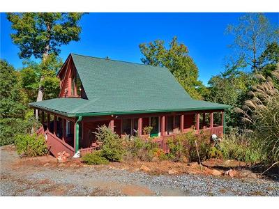 Lake Lure Single Family Home For Sale: 258 Shuttle Mill Crossing