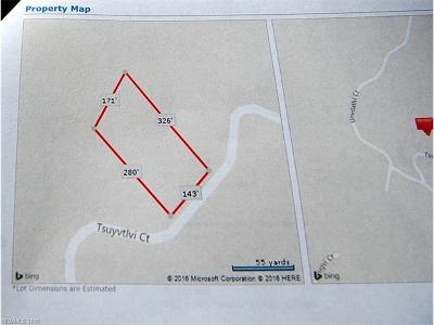 Brevard Residential Lots & Land For Sale: Tbd Tsuyvtlvi Court