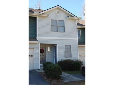 Transylvania County Condo/Townhouse For Sale: 119 Downing Park Court #D
