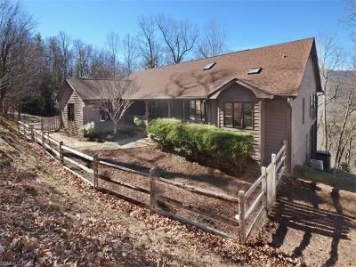 Asheville NC Single Family Home Under Contract-Show: $425,000