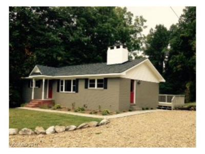 Transylvania County Single Family Home Under Contract-Show: 13 Kim Miller Road