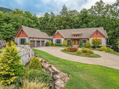 Mill Spring Single Family Home For Sale: 2554 Deep Gap Farm Road