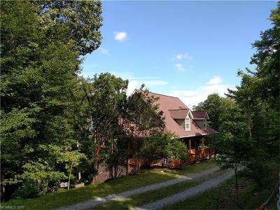 Brevard Single Family Home For Sale: 225 McDonald Court #Lots 4 &