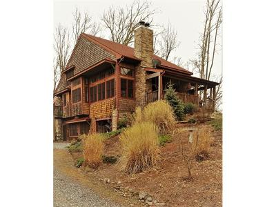 Weaverville Single Family Home Under Contract-Show: 421 Vista Point