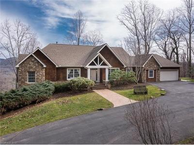 Asheville Single Family Home Under Contract-Show: 615 Vista View Drive