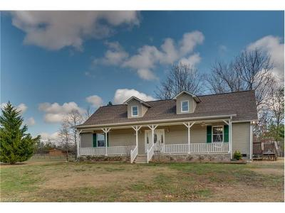 Rutherfordton Single Family Home For Sale: 1590 W V Thompson Road