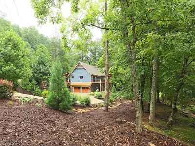 Lake Lure Single Family Home Under Contract-Show: 134 Chapel Point Road