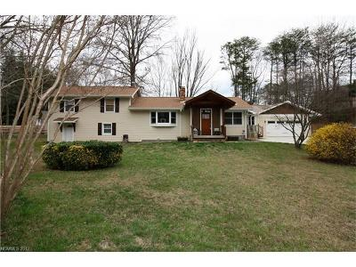 Asheville Single Family Home Under Contract-Show: 154 Old Haw Creek Road #1
