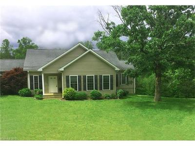 Tryon Single Family Home Under Contract-Show: 1860 Hugh Champion Road