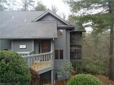 Transylvania County Condo/Townhouse For Sale: 112 River Park Villas Drive #112