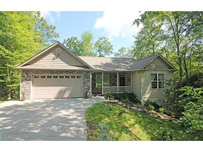 Brevard Single Family Home For Sale: 575 Kanasgowa Drive