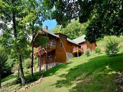 Waynesville Single Family Home For Sale: 872 Cobblestone Drive