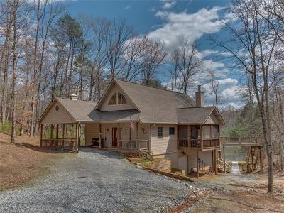 Lake Lure Single Family Home For Sale: 532 Lakewood Drive