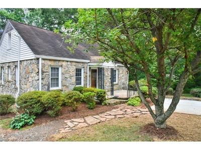 Asheville Single Family Home For Sale: 103 Raleigh Road