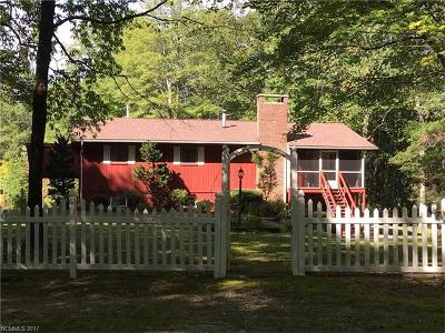 Lake Toxaway Single Family Home For Sale: 114 C Harrison Hall Road