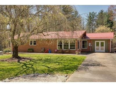 Brevard Single Family Home For Sale: 920 Island Ford Road