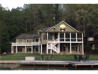 Lake Lure Single Family Home For Sale: 2385 Buffalo Shoals Road #2 & 3