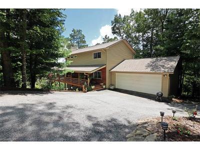 Transylvania County Single Family Home For Sale: 208 Brandy Ridge