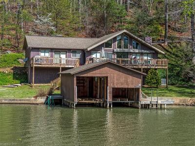 Lake Lure Single Family Home For Sale: 345 Lakeview Road