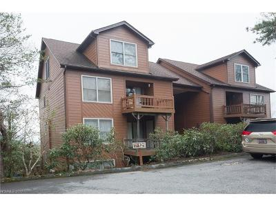 Transylvania County Condo/Townhouse For Sale: 121 Toxaway Views Drive #502