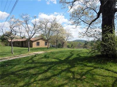 Transylvania County Single Family Home For Sale: 411 Old County Home Road