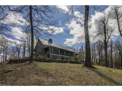 Tryon Single Family Home For Sale: 5042 Hogback Mountain Road