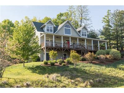 Black Mountain Single Family Home For Sale: 296 S Feather Falls Trail