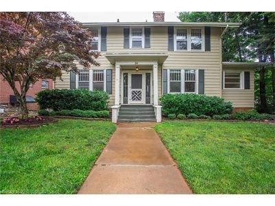 Asheville Single Family Home For Sale: 26 Edgemont Road