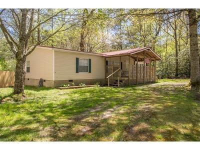 Transylvania County Manufactured Home Under Contract-Show: 338 Bearwallow Road #15a