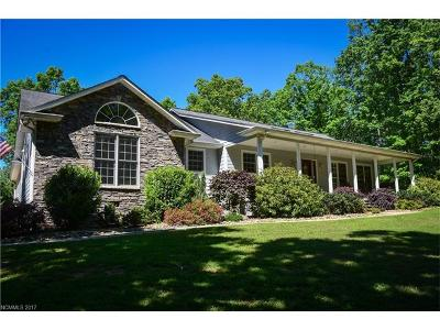 Mill Spring Single Family Home For Sale: 2346 Manus Chapel Road