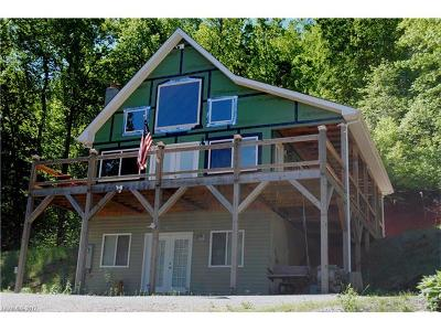 Single Family Home For Sale: 696 Hickory Nut Hollow