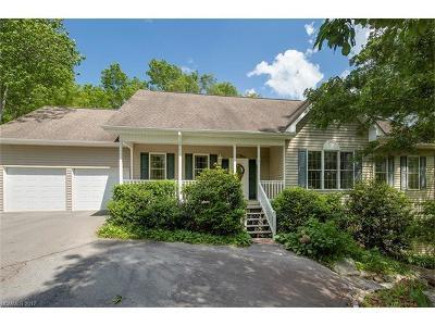 Transylvania County Single Family Home Under Contract-Show: 334 Moon Circle