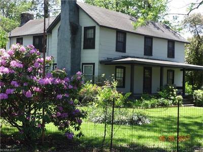 Black Mountain Single Family Home For Sale: 564 Blue Ridge Road S