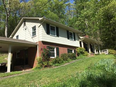 Asheville Single Family Home For Sale: 36 Woodcrest Road